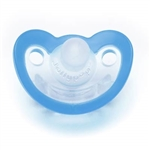 Photo of JollyPop Pacifier 0-3m Unscented - Blue n Clear