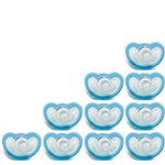 Photo of JollyPop Pacifier 10 Pack 3m+ Solid Teal