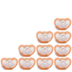 Photo of JollyPop Pacifier 10 Pack 3m+ Orange