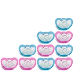Photo of JollyPop Pacifier 10 Pack 3m+ Mix Pink-Blue