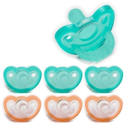 Photo of JollyPop Pacifier Value Pack 3m+ Mix Teal-Orange