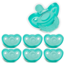 Photo of JollyPop Pacifier Value Pack 3m+ Solid Teal