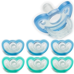 Photo of JollyPop Pacifier Value Pack 0-3m Mix Blue-Teal
