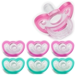Photo of JollyPop Pacifier Value Pack 0-3m Mix Pink-Teal