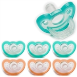 Photo of JollyPop Pacifier Value Pack 0-3m Mix Teal-Orange