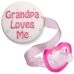 Embroidered Grandpa Love Me Combo (Pink or Blue)