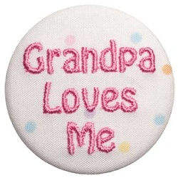 Grandpa Loves Me Pink on Dots