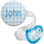 Personalized Embroidered Combo Blue