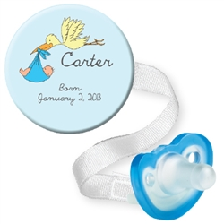 Personalized Stork Combo Blue