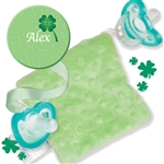 Personalize Clover Clip and CuddleSquare Bundle from Sandbox Medical