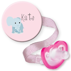 Personalized Elephant Combo Pink