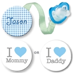 Mommy or Daddy Combo Blue