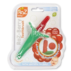 photo of RaZBerry toothbrush