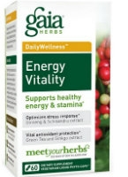 Energy Vitality, 60 caps by Gaia Herbs