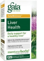 Liver Health, 60 caps by Gaia Herbs