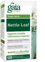 Nettle Leaf, 60 caps by Gaia Herbs
