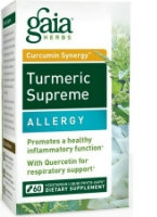 Turmeric Supreme: Allergy, 60 caps by Gaia Herbs