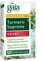 Turmeric Supreme: Heart, 60 caps by Gaia Herbs