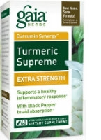 Turmeric Supreme Extra Strength, 120 by Gaia Herbs