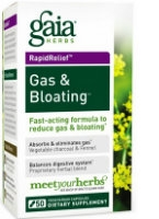 Gas & Bloating,  60 caps by Gaia Herbs