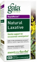 Natural Laxative, 60 caps by Gaia Herbs