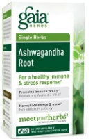 Ashwagandha Root, 60 caps by Gaia Herbs