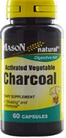 Activated Vegetable Charcoal, 60 caps