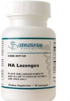 HA Lozenges, 30 tabs by Complementary Prescriptions