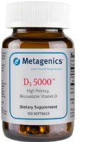 D3 5000, 120 softgels by Metagenics