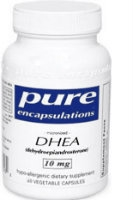 DHEA 10 mg, 60 caps by Pure Encapsulations