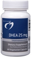 DHEA 25mg, 60 Caps by Designs for Health