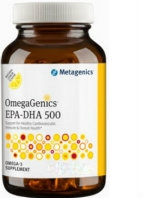 OmegaGenics EPA-DHA 500 120 softgels by Metagenics