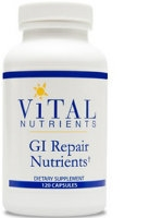 GI Repair Nutrients, 120 caps by Vital Nutrients