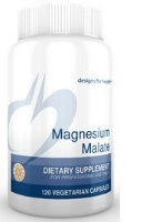 Magnesium Malate, 120 vcaps By Designs for Health