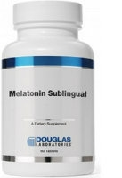 Melatonin 3 mg, Sublingual 60 tabs by Douglas Labs
