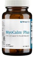 MyoCalm Plus, 60 tablets by Metagenics