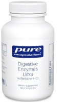 Digestive Enzymes Ultra w/ HCl, 180 caps by Pure Ecapsulations