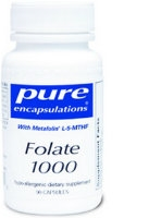 Folate 1000, 90 caps by Pure Encapsulations