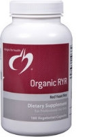 Organic RYR, 180 vcaps by Designs for Health