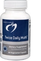 Twice Daily Multi, 60 vcaps by Designs for Health