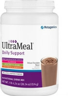 UltraMeal Daily Support, Chocolate, 574 gr by Metagenics