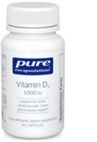 Vitamin D 1000 IU, 60 vcaps by Pure Encapsulations