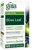 Olive Leaf, 60 caps by Gaia Herbs