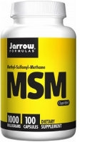 MSM 1,000 mg, 100 tabs by Jarrow Formulas