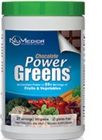 Power Greens Chocolate, 300 gr by NuMedica