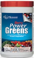 Power Greens Berry, 300 gr by NuMedica