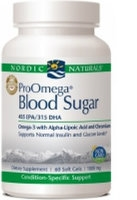 Pro Omega Blood Sugar, 60 gelcaps by Nordic Naturals