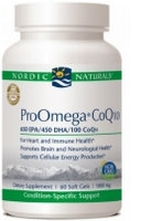 Pro Omega CoQ10, 120 gelcaps by Nordic Naturals