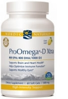 Pro Omega D Xtra, 60 gelcaps by Nordic Naturals