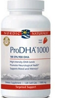 Pro DHA 1000, 60 Strawberry gelcaps by Nordic Naturals
